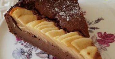 מתכון קסום לעוגת שוקולד עם תפוחים