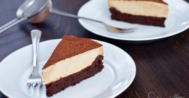 עוגת שוקולד מוס קפה פשוטה להכנה