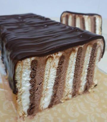 עוגת ביסקוויטים נוסטלגית