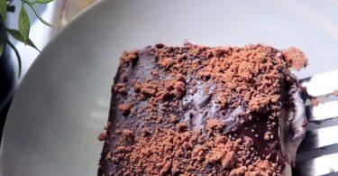 עוגת גבינה ושוקולד נוטלה