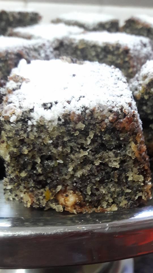 מתכון עוגת פרג בחושה פרווה