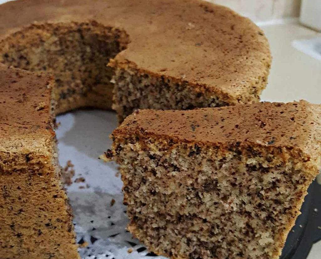 מתכון עוגת קוקוס אגוזים ושוקולד