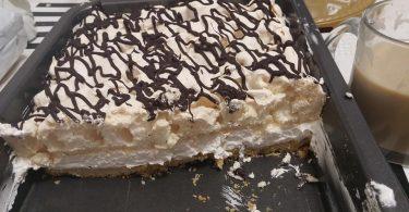 מתכון עוגה נוסטלגית קצף וקצפת