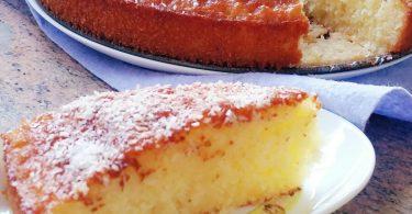 מתכון עוגת פרי הדר וקוקוס