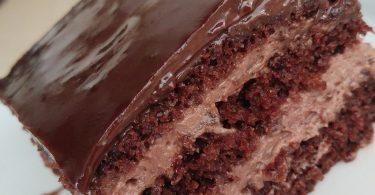 מתכון עוגת שכבות שוקולד ונוגט