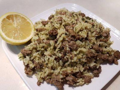 בחש - אורז בוכרי עם בשר ותבלינים
