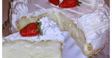 עוגת גבינה הנסיכה בלבן
