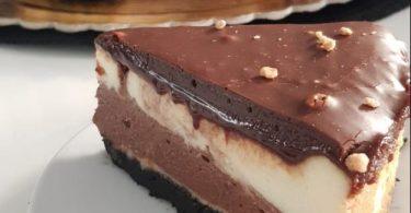 עוגת גבינה נוטלה אוראו