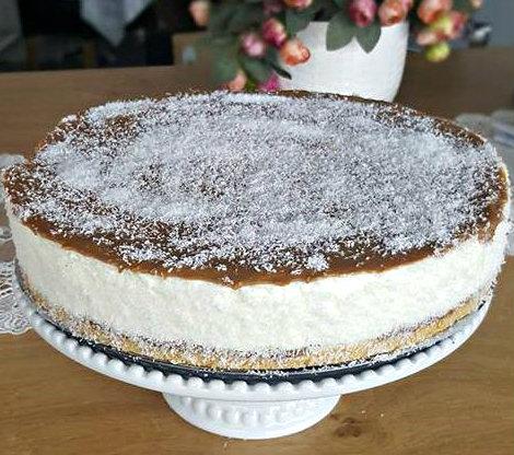 עוגת אלפחורס קלה להכנה