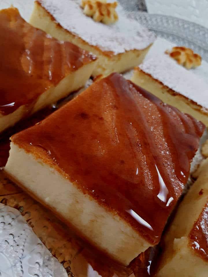 עוגת גבינה של בית מלון קלה להכנה