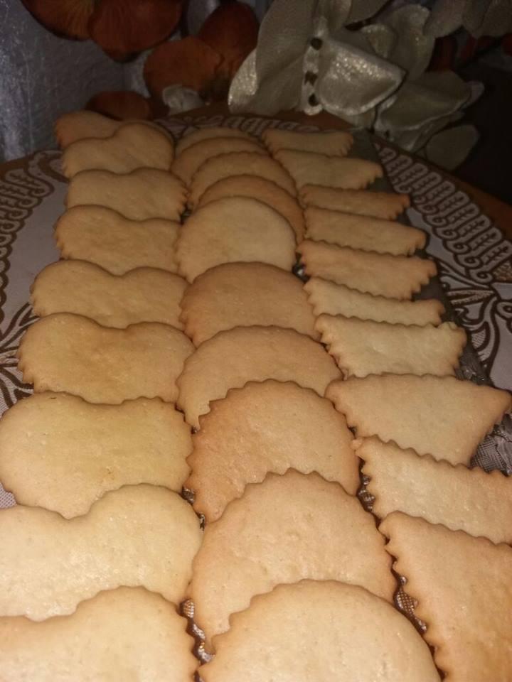 עוגיות פריכות ללא מרגרינה