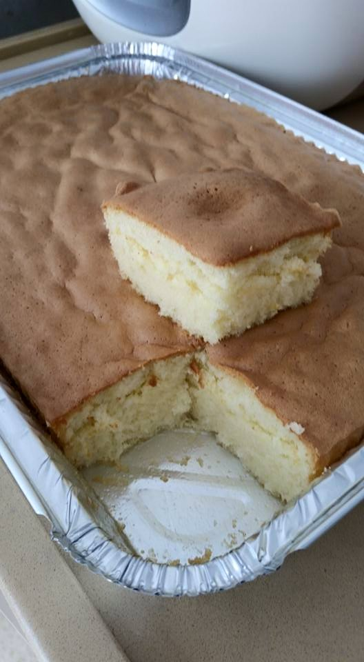 עוגת לימון ענן