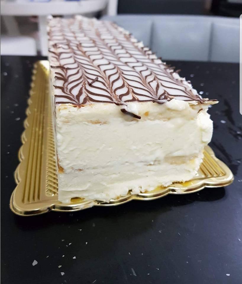 עוגת נפוליאון קרם שניט 2