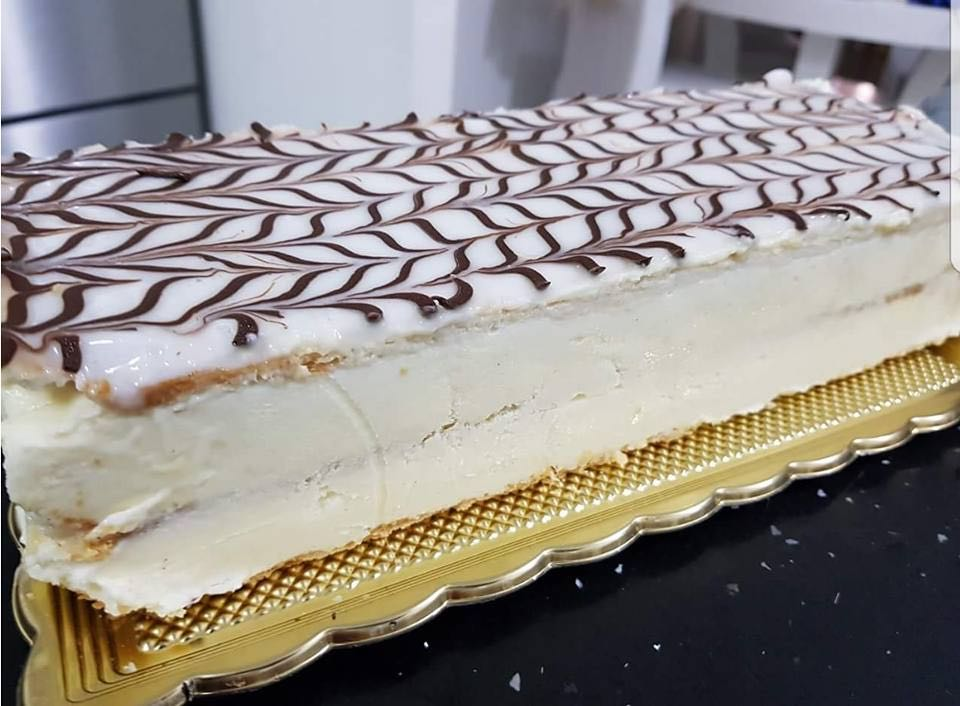 עוגת נפוליאון קרם שניט