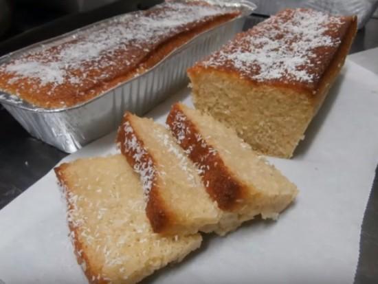 עוגת קוקוס תפוזים וסולת של ארומה