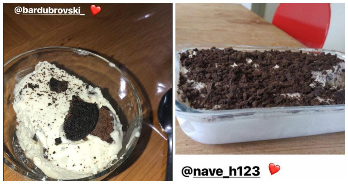 גלידת אוראו ביתית