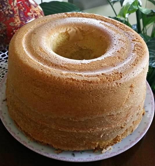 עוגת תפוזים רכה וגבוהה