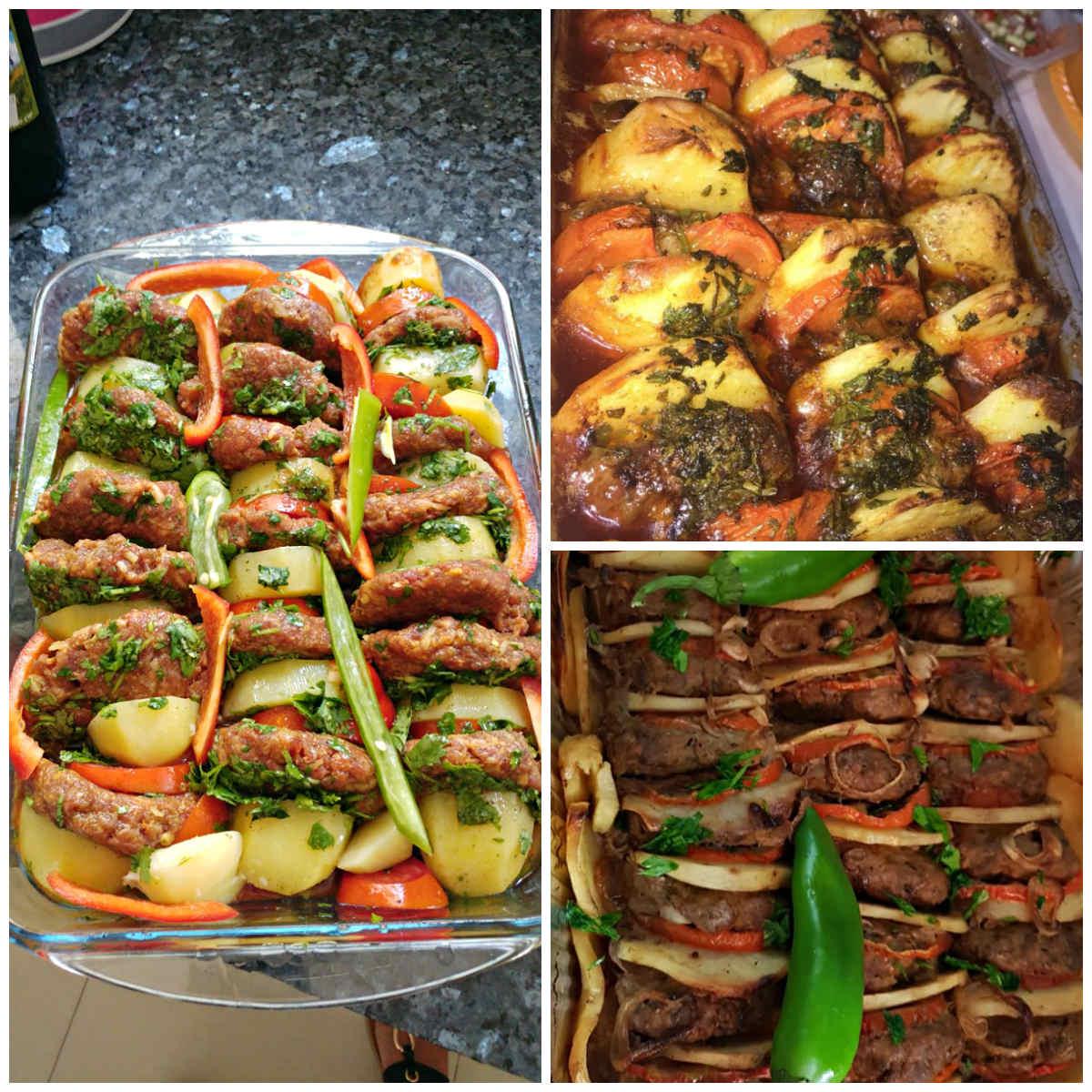 קציצות בשר טחון עם ירקות - תמונות גולשים