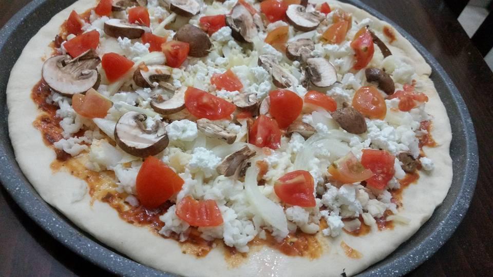 פיצה ביתית איטלקית של מלי מאירוב!