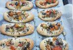פוקצ'ה עם ירקות