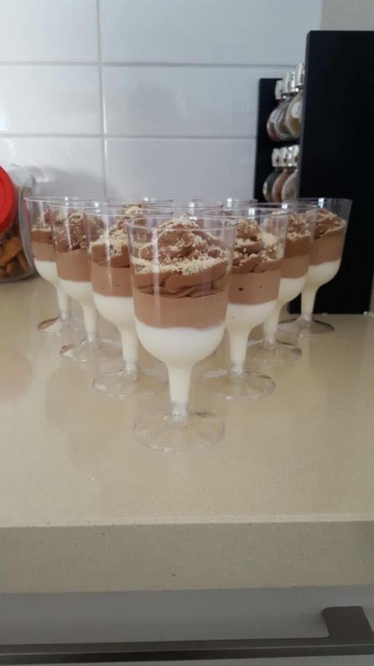 קינוח שוקולד 3 שכבות