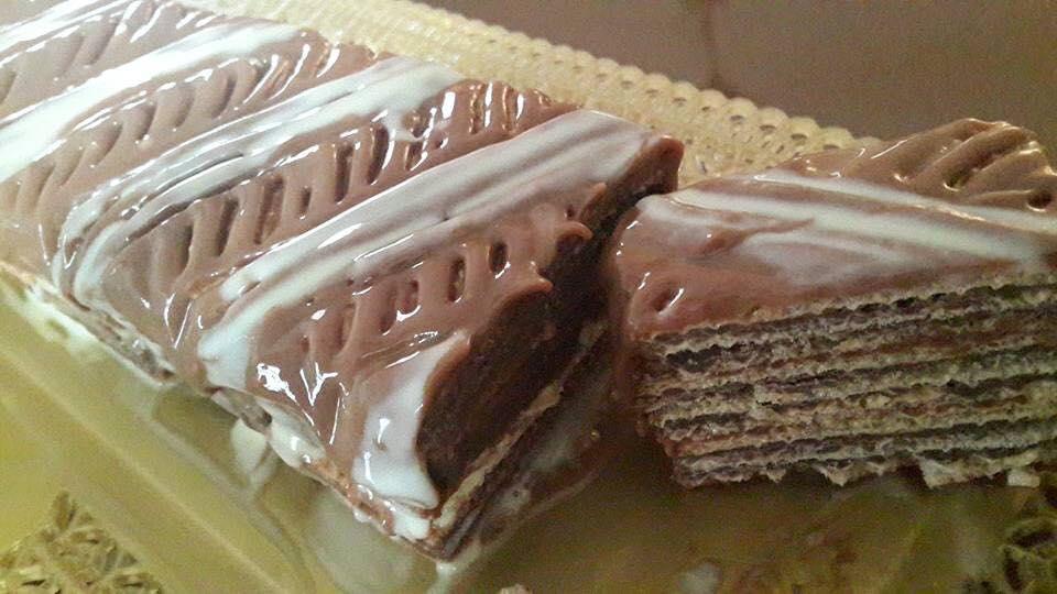 עוגת וופלים קלה להכנה ללא אפייה