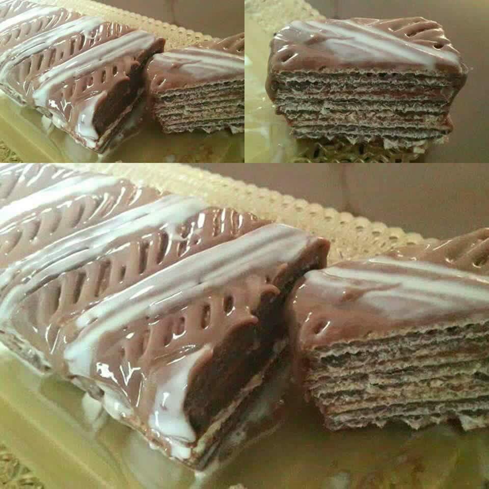 עוגת וופלים קלה להכנה