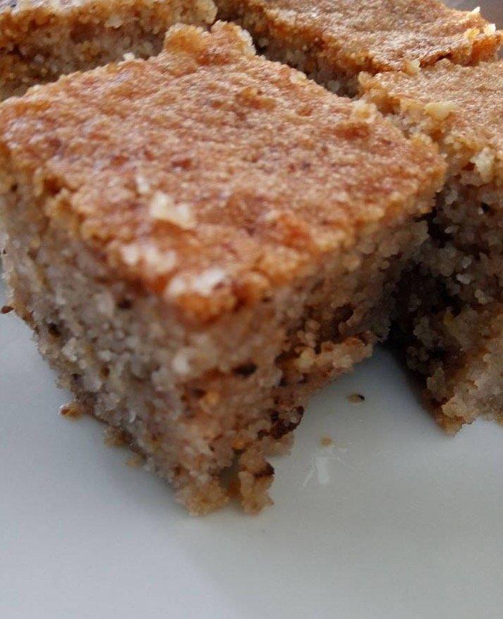 עוגת סולתללא קמח