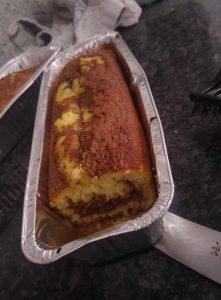 עוגת שיש בחושה מהירה