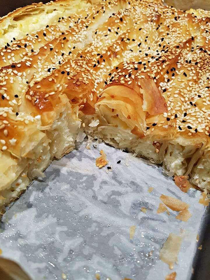 מאפה פילו במילוי גבינות 2