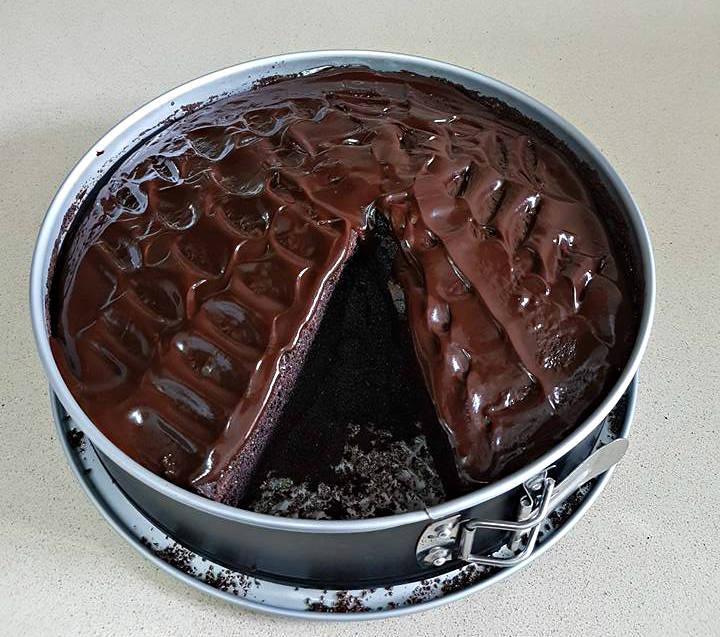 עוגה שוקולד כושית לימי הולדת 3