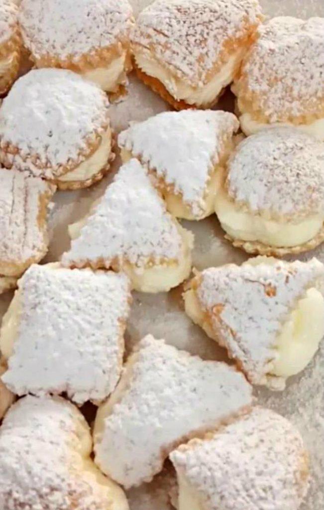 עוגיות קרם שניט קלות להכנה