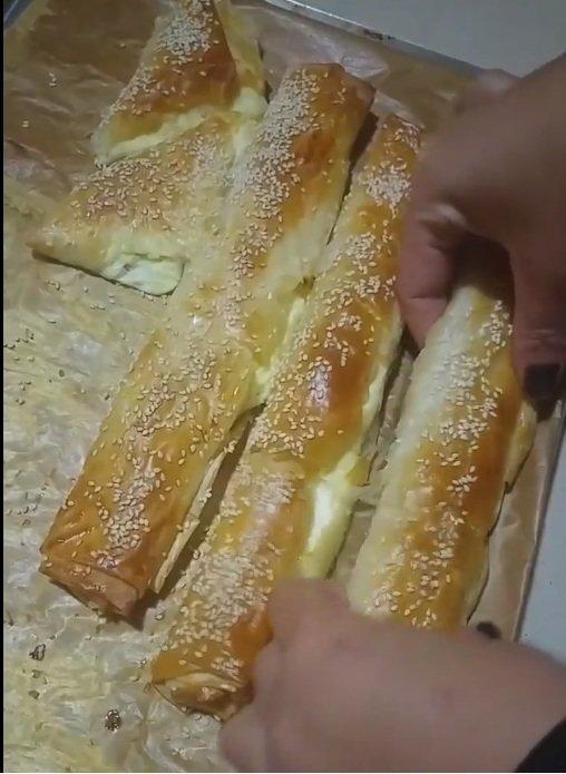 בצק פילו במילוי גבינות