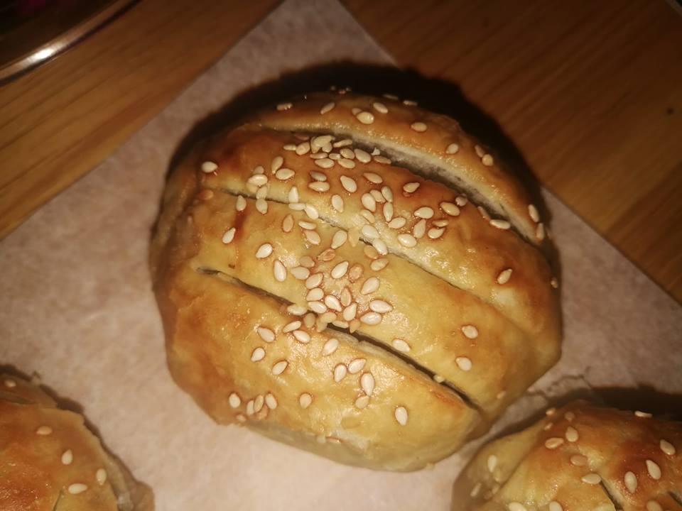מאפה פטריות פורטבלו במילוי בשר