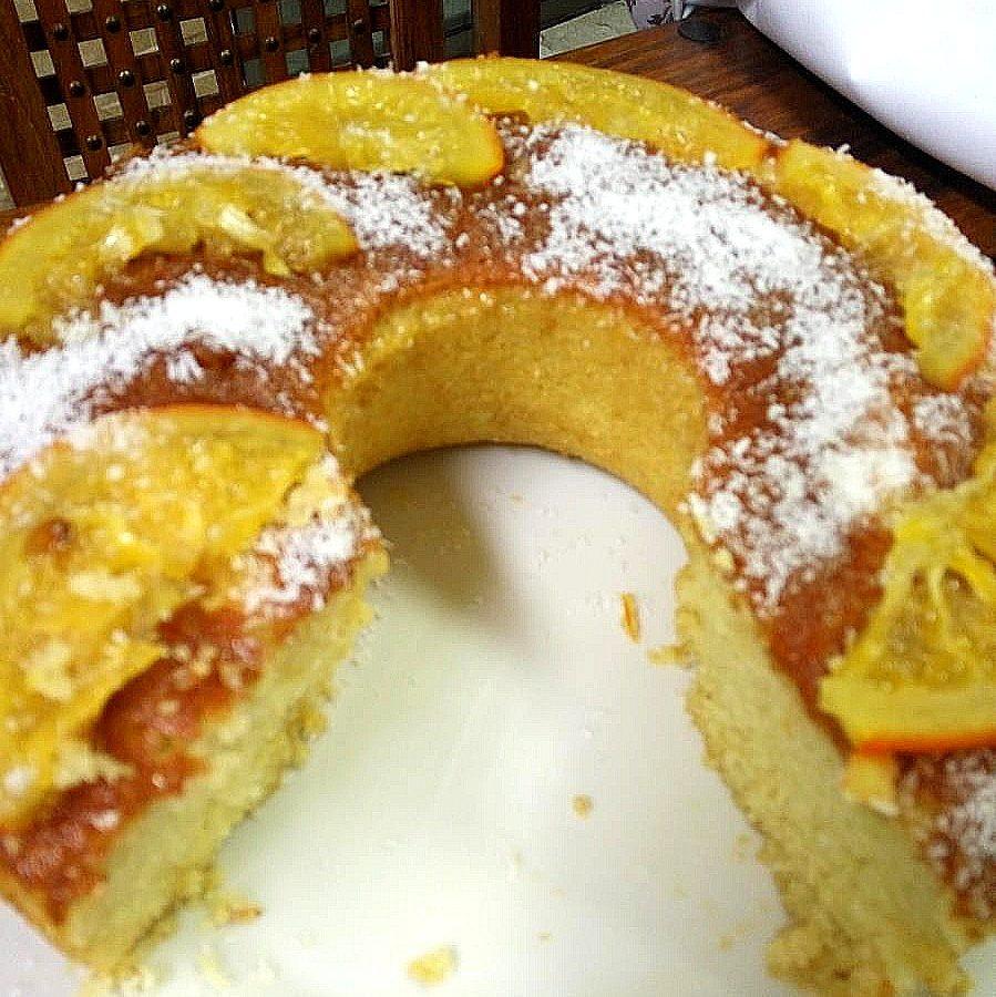 עוגת תפוזים קוקוס שרה