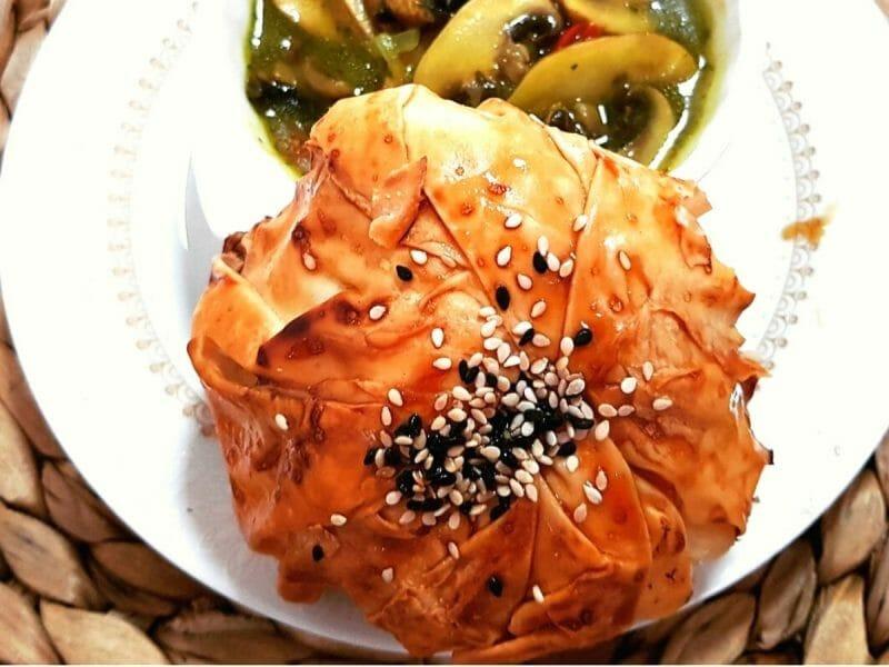 פסטייה פרגיות עם פירות יבשים ופיצוחים