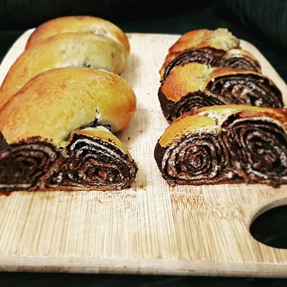 עוגת שמרים קיפולים