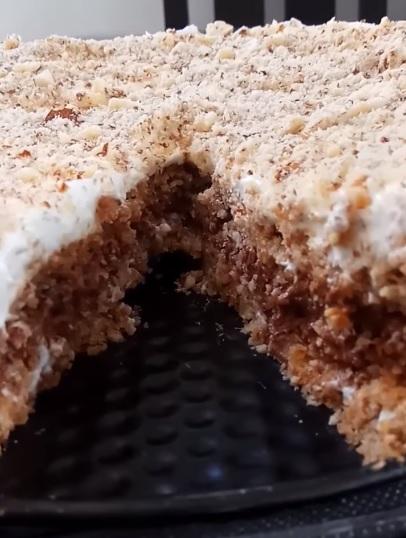 עוגה כשרה לפסח על בסיס שקדים