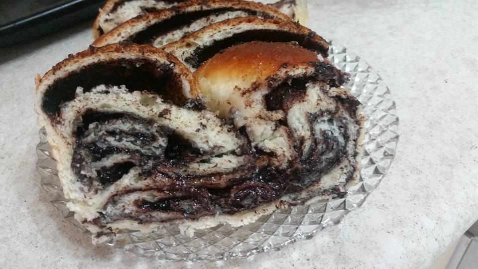 עוגת שמרים בבקה