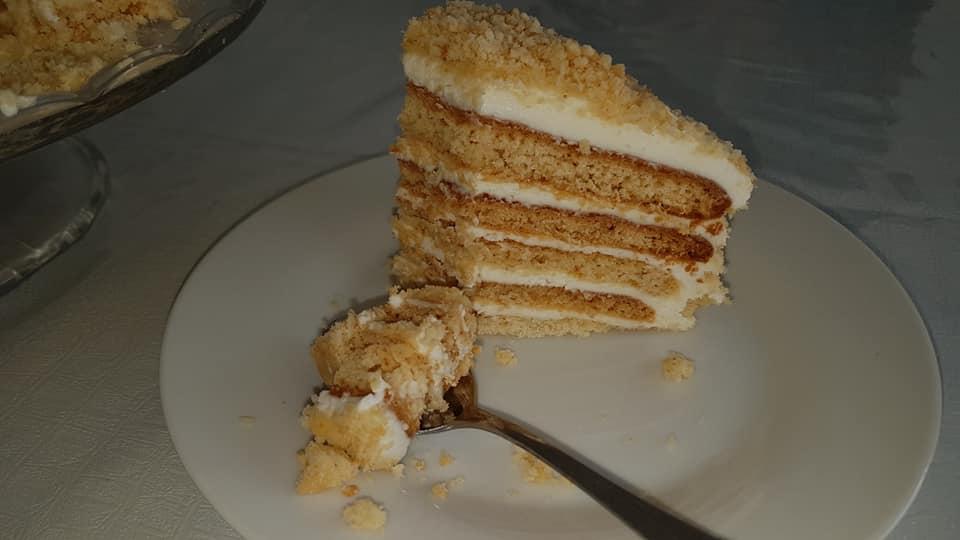 עוגת מדוביק טעימה ומרשימה