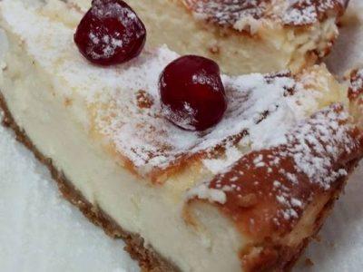 עוגת גבינה אפויה ישראלה אזולאי