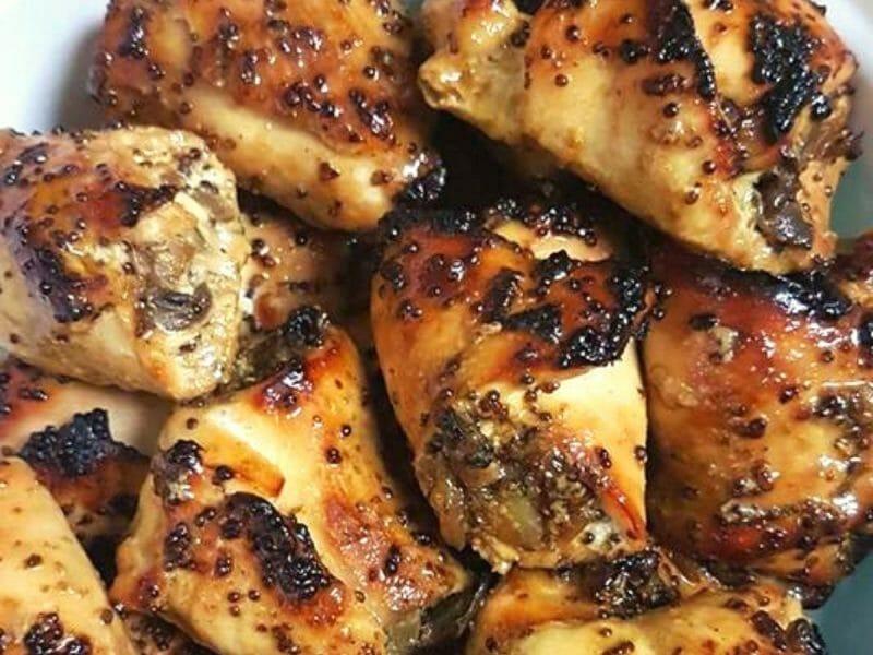 חזה עוף במילוי פטריות