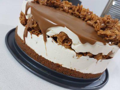 עוגת מסקרפונה ולוטוס
