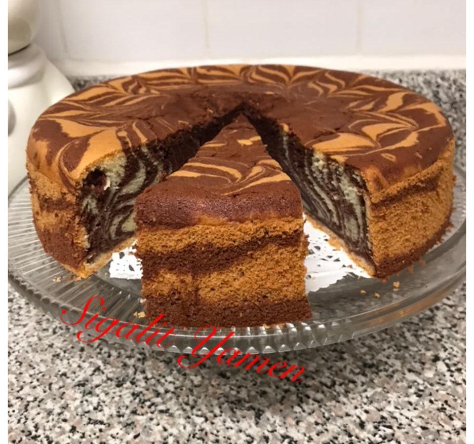 עוגת זברה טעימה