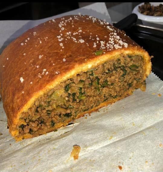 לחם ממולא בשר
