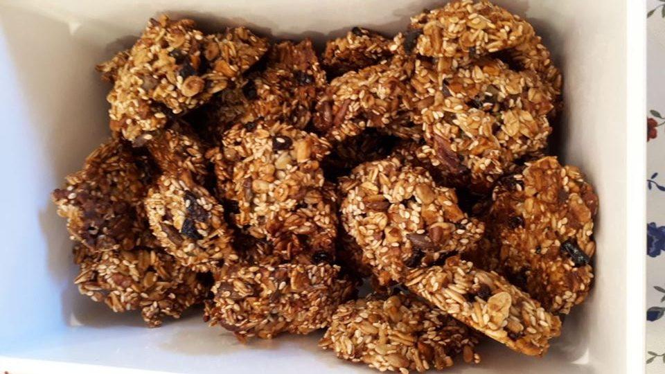 עוגיות גרנולה