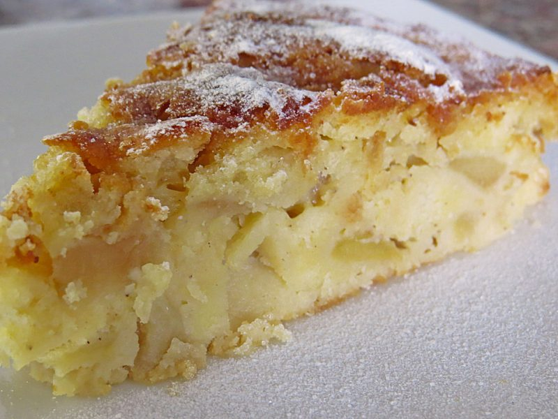 עוגת גבינה תפוחים בחושה