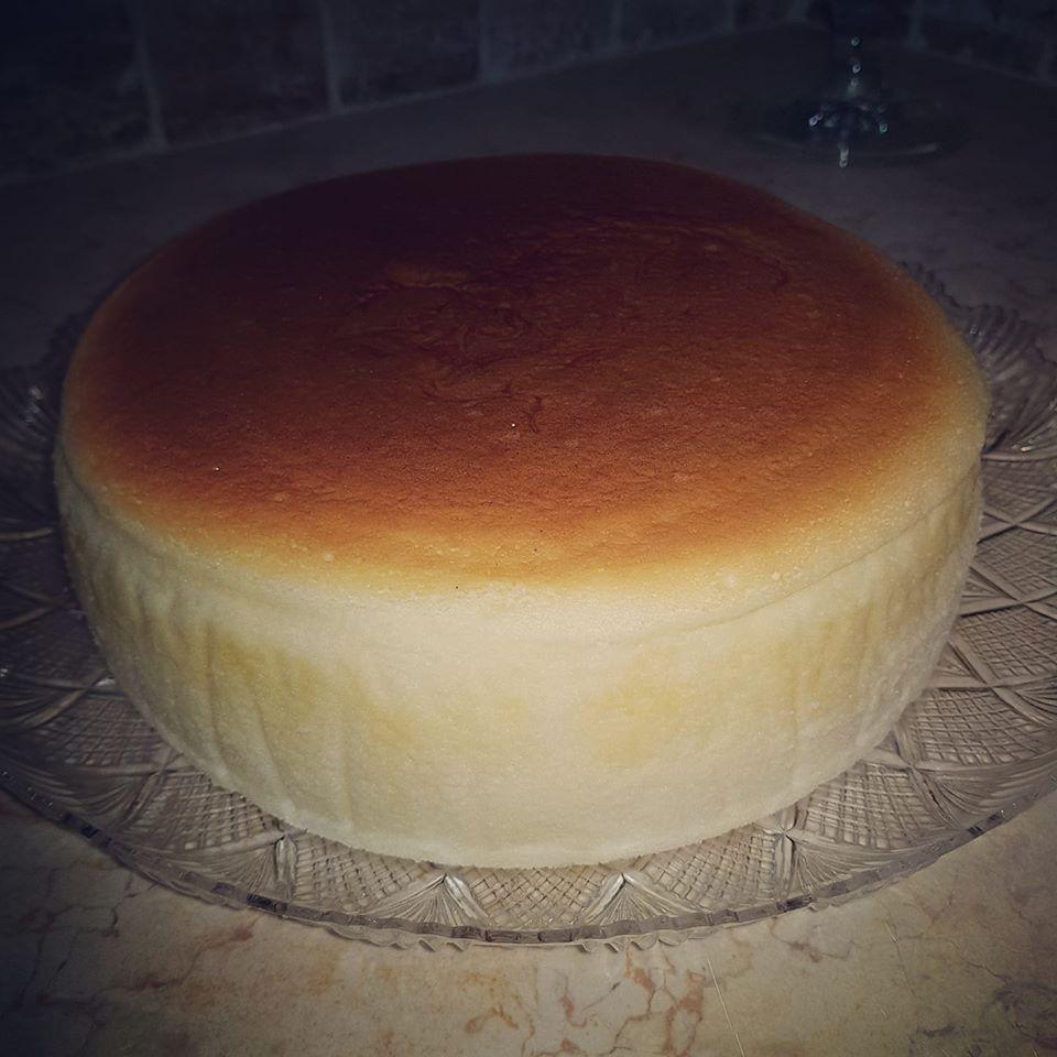 עוגת גבינה אפויה כמו של פעם