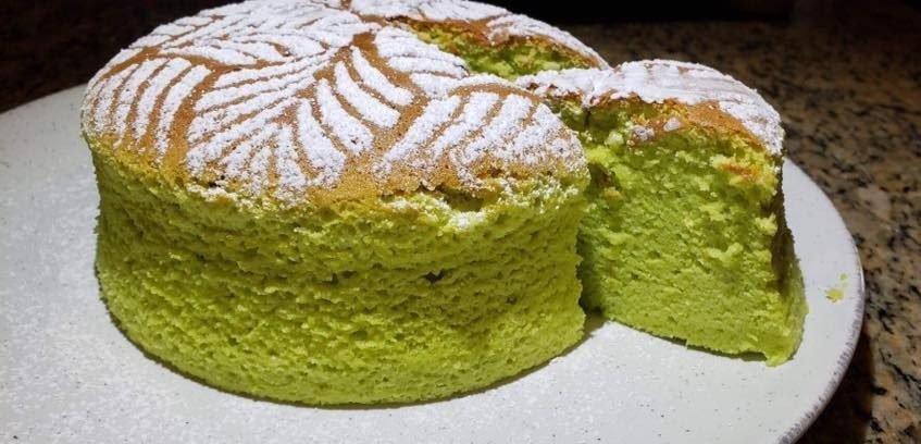 עוגת גבינה אפויה פיסטוק
