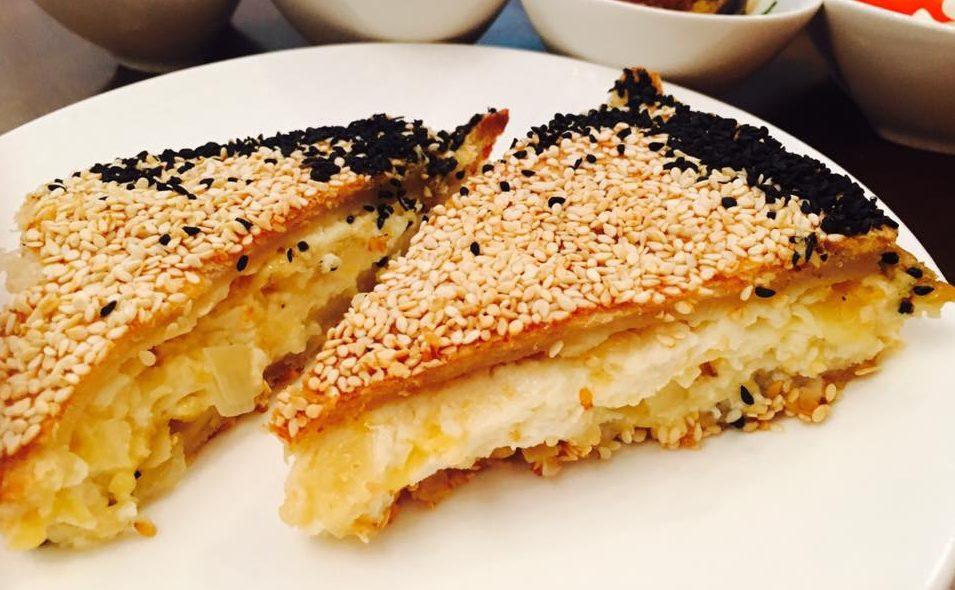 בצק פריך במילוי גבינות
